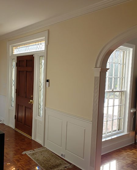 Entryway Wall Fine Trimwork